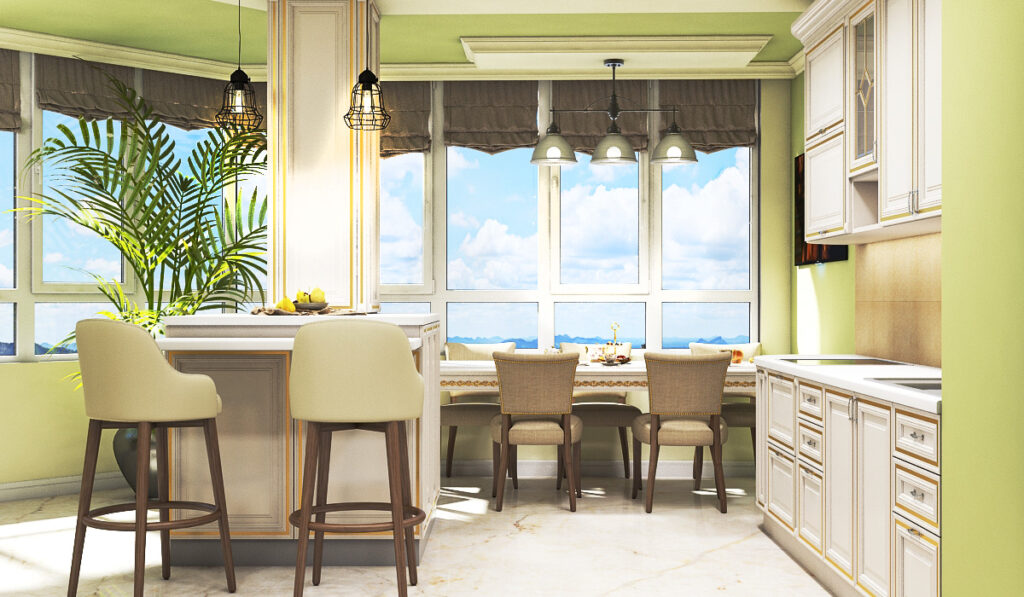 дизайн квартиры в классике