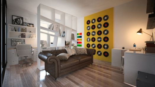 квартира в стиле поп арт