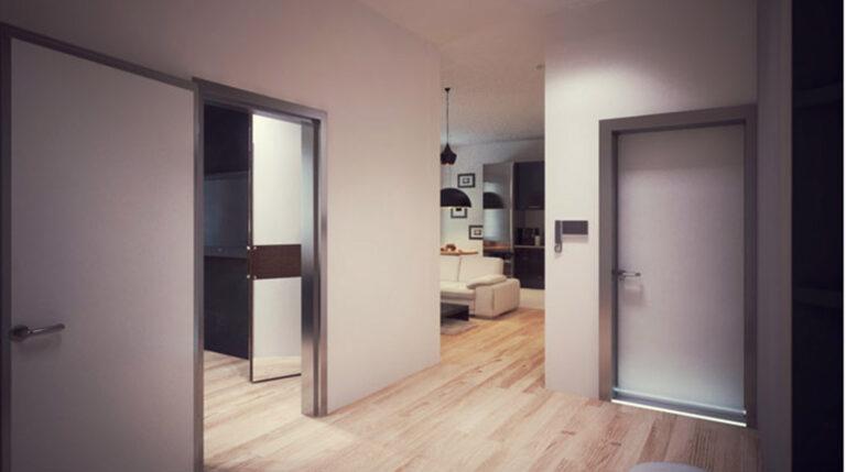 коридор квартиры студии