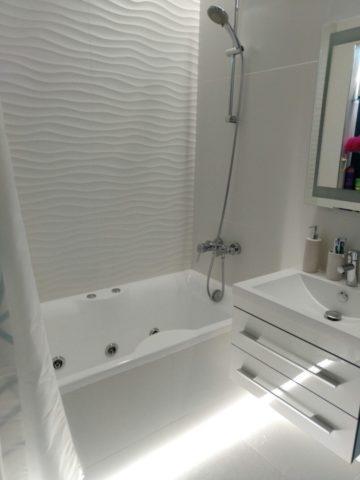 фото ванной в белом цвете