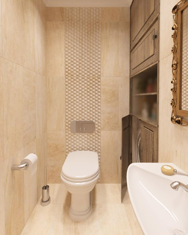 туалет в кантри стиле