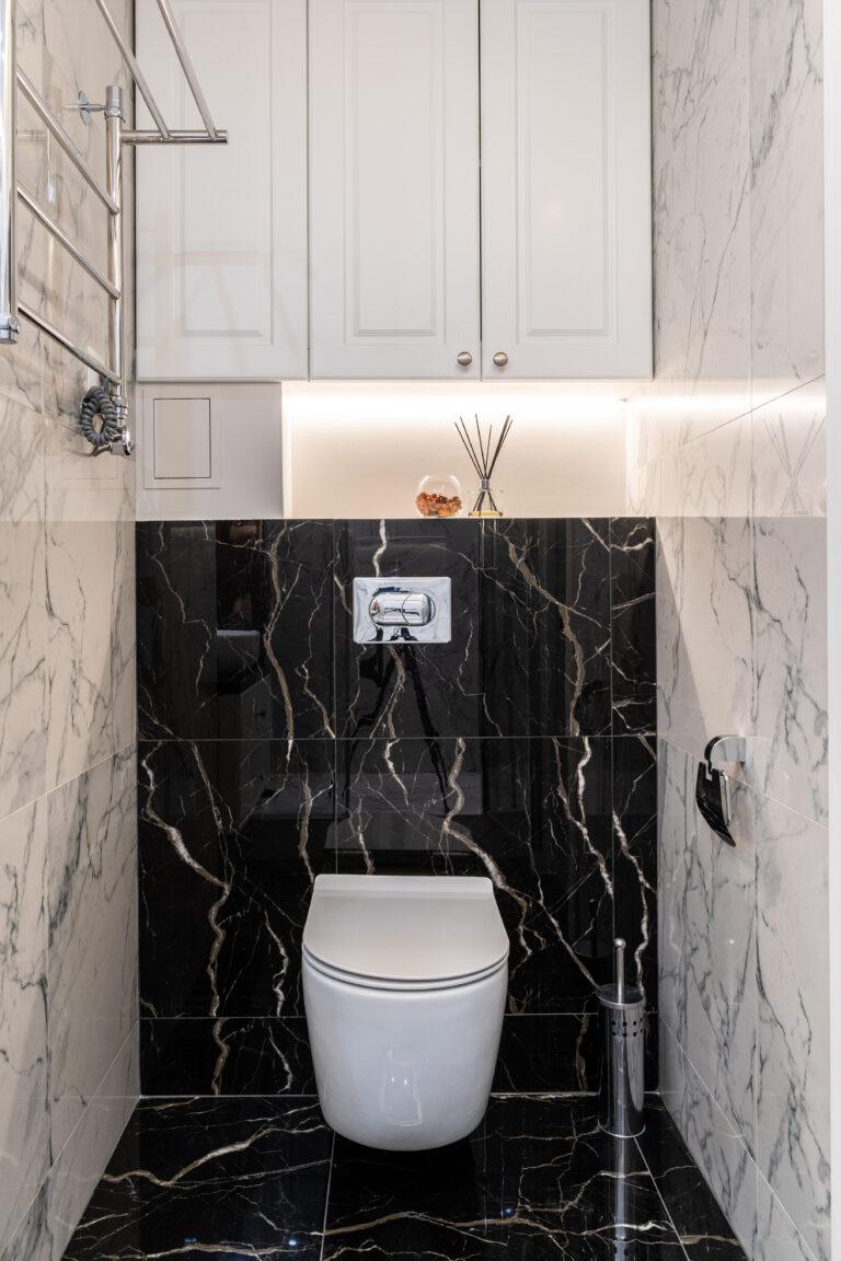 интерьер туалета по дизайн проекту
