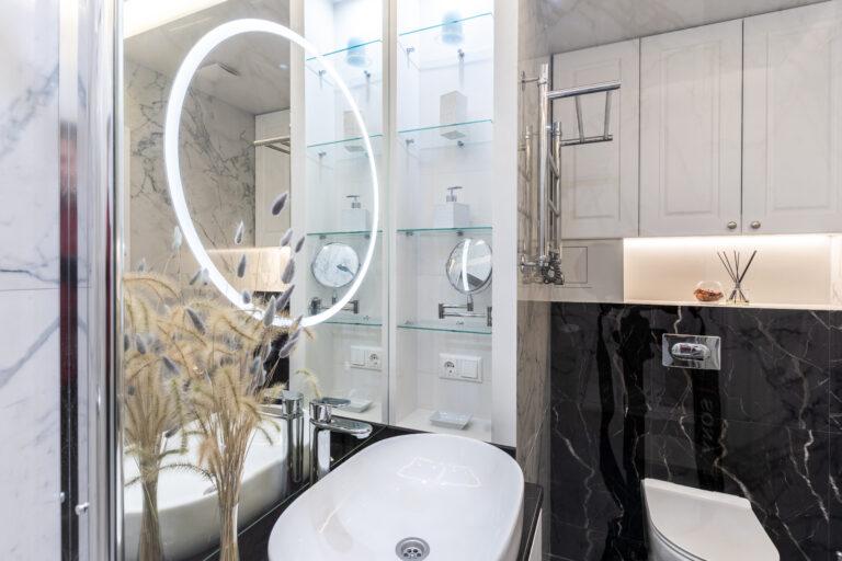 Ванная комната с туалетом фото