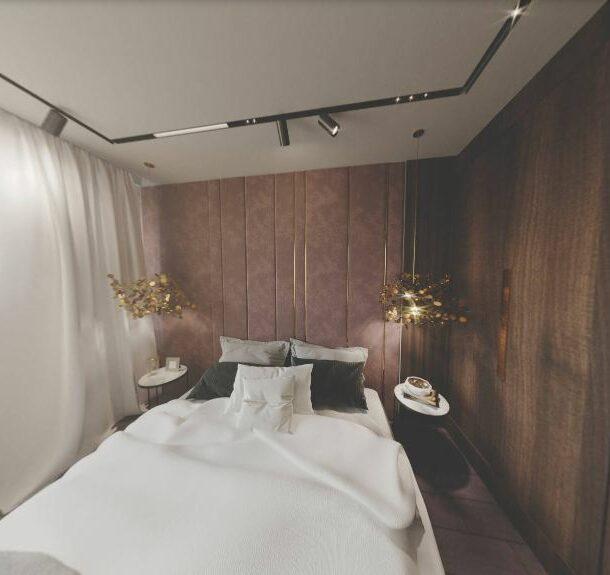 спальня в виртуальной реальности