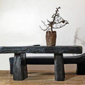 Стол и лавка дизайнерские