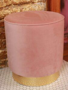 купить розовый пуф