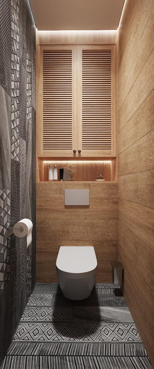 островной дизайн туалета