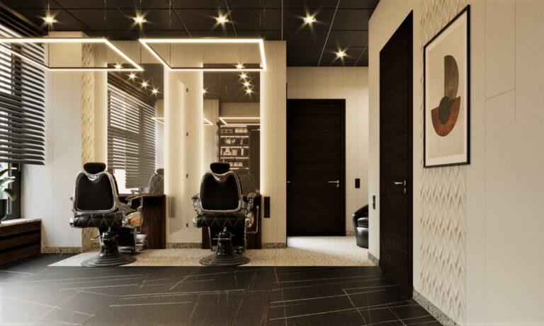 дизайн мужского зала дизайн проект