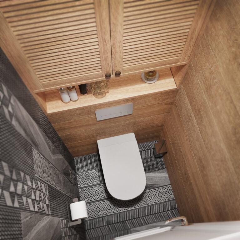 дизайн туалета маленького
