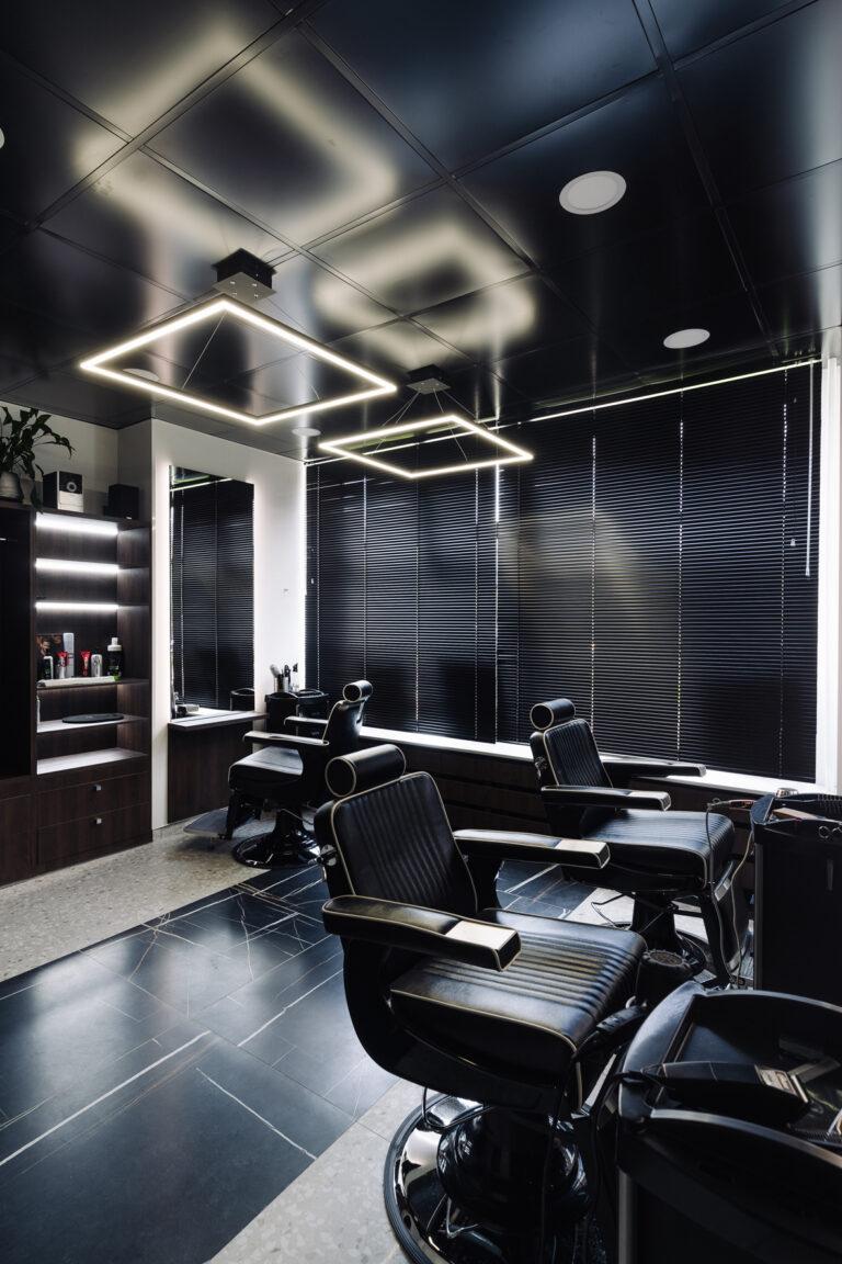 минимализм дизайн парикмахерской